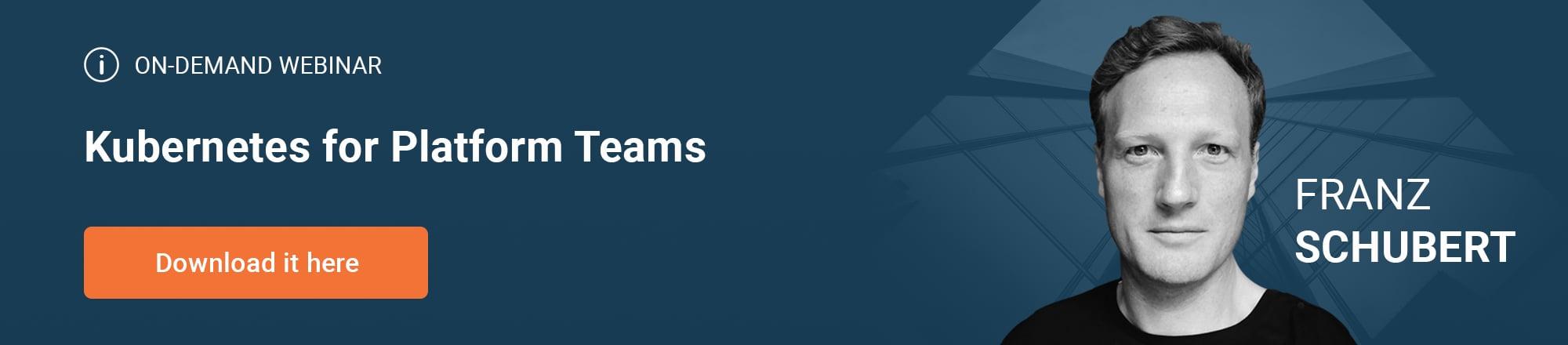Kubernetes_for_Platform_Teams