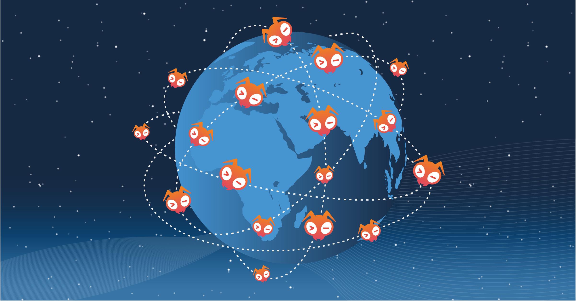 Giant Swarm's giant network image thumbnail